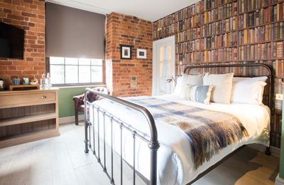 Indulgence hotel room - The Head of the River, hotel and pub in Oxford, Oxfordshire.
